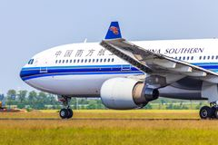 China Southern Airbus A330 stock image