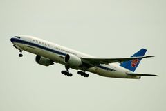 China Southern Airlines Cargo Boeing Royalty Free Stock Photo