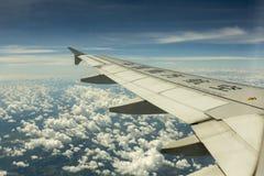 China Southern Airlines sorvola il mare Fotografie Stock Libere da Diritti