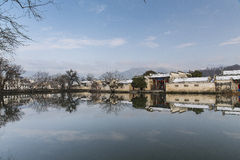 China southern anhui local-style dwelling houses Royalty Free Stock Photography
