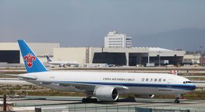 China Southern Cargo Plane Royalty Free Stock Photography