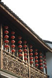 China southern traditional architeccture. In hangzhou Royalty Free Stock Images