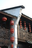 China southern traditional architeccture. In hangzhou Royalty Free Stock Photo