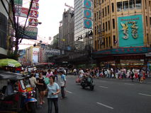 China-Stadt, Stockfotografie