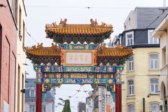 China-Stadt Antwerpen lizenzfreie stockfotos