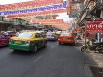 China-Stadt Bangkok Lizenzfreie Stockbilder