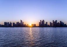 China-Stadt Hangzhou Stockbild