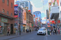 China-Stadt Melbourne Lizenzfreie Stockfotos
