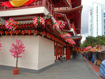 China-Stadt in Singapur Lizenzfreies Stockbild