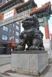 China-Stadttor-Löwe von Portland, Oregon Stockfotografie