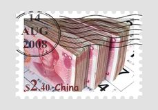 China stamp postage Stock Image