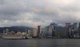 China star cruise mooring in hong kong Stock Photos