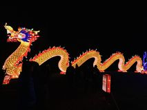 China steekt draakkant aan royalty-vrije stock foto's