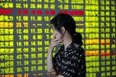 china stock market collapse Stock Photo