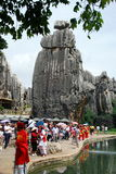 China: Stone Forest National Park Stock Images