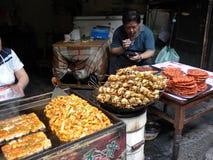 China-Straßenlebensmittel Stockfotos