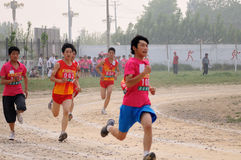 China: Student Track and Field Games stock photos