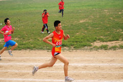 China: Student Track and Field Games Royalty Free Stock Images