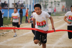 China: Student Track and Field Games/sprint stock images
