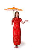 China-style woman Royalty Free Stock Images