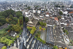 China SUzhou Aerial roofs Stock Images