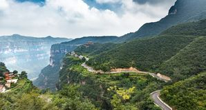 Free China Taihang Mountains Grand Canyon Royalty Free Stock Photos - 129078118
