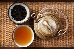 China tea. Set of China tea background Stock Photo