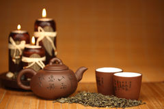 China tea. Background close up Stock Photos