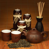 China tea. Background close up Royalty Free Stock Photos