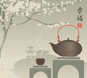 China tea Stock Image