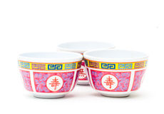 China tea cup on white. Stock Images
