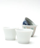 China tea cup on white. Stock Image