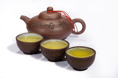 China tea pot and cup Royalty Free Stock Photo