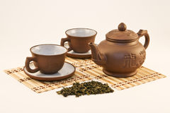 China tea set Royalty Free Stock Photo