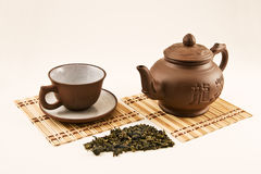 China tea set Royalty Free Stock Photos