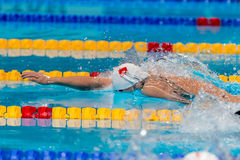 China Team 4x200 men freestyle Stock Image