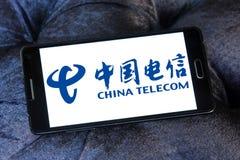 China Telecom logo Obraz Royalty Free