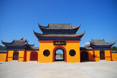 China-Tempel Stockbild