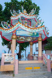 China-Tempel in Mae Nam, Koh Samui, Thailand Stockbilder