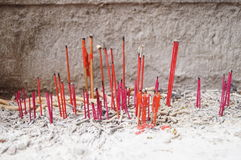 In the China temple worship incense, Royalty Free Stock Image
