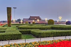 China Tiananmen 2 South Gate Left Stock Image