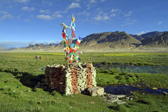 China, Tibet royalty-vrije stock foto
