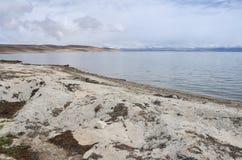 China, Tibet, holy lake Manasarovar.  royalty free stock image