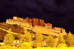 China Tibet Potala Palace. Here is located in the Chinese Tibet Potala Palace in Lhasa City Stock Photo
