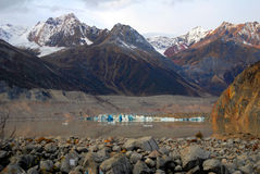 China Tibet Qamdo Basu County Rawu to village to ancient glaciers Stock Photo