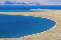 China Tibet, Zharinan Lake Stock Photography