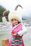 China Tibetan girl Royalty Free Stock Images