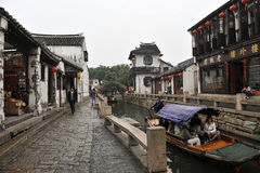 China tourism: Zhouzhuang ancient Water town Royalty Free Stock Photography