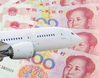 China tourist airplane Royalty Free Stock Image