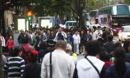 China tourist in Taiwan Royalty Free Stock Photo